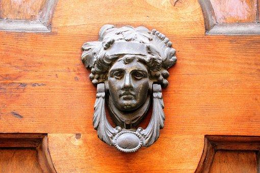 Bell, Entrance Door, Door, Deco, Input, Front Door