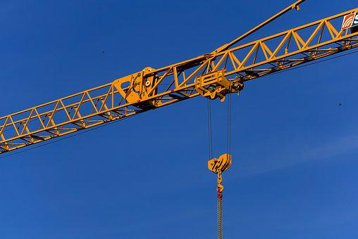 Crane, Baukran, Load Crane, Site, Cranes