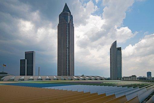 Skyline Plaza, Frankfurt, Hesse, Germany, Skyscraper