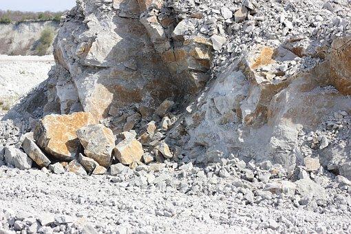 Quarry, Scree, Stone Demolition, Rock, Landscape, Slope