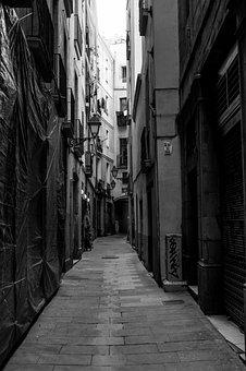 Streets, Bilbao, Euskadi, Vanishing Point, Lines