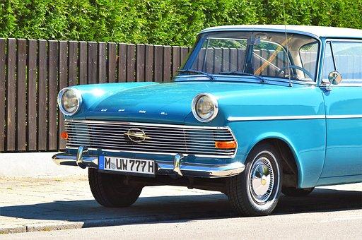 Opel, Opel Record, Auto, Oldtimer, Record