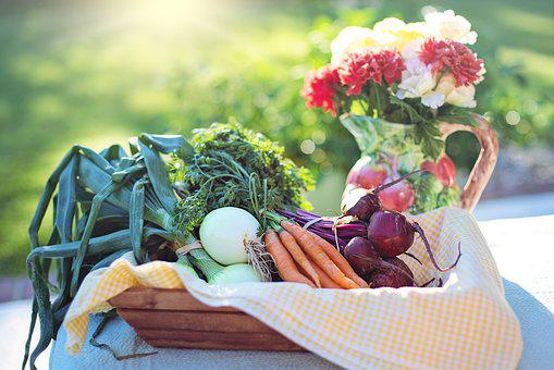 Vegetables, Onions, Carrots, Beets, Food, Healthy