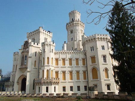 Deep, Castle, Bohemia, Mansion