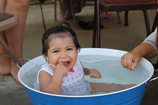 Summer Fun, Child, Girl, Kid, Family, People, Smile