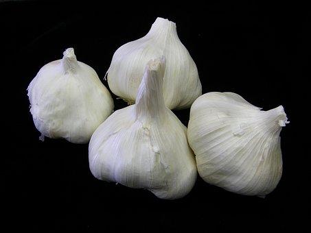 Garlic, Food, Vegetable, Healthy, Fresh, Natural, Herb