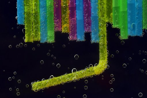 Straws, Halme, Drink, Tube, Plastic Tubes, Colorful