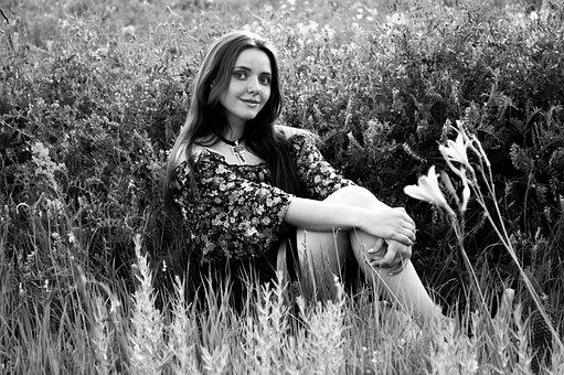 Girl, Nature, Nicely, Summer, Smile, Portrait, Joy