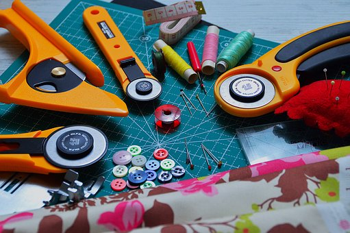 Quilting, Mood, Sewing, Thread, Material, Spindle