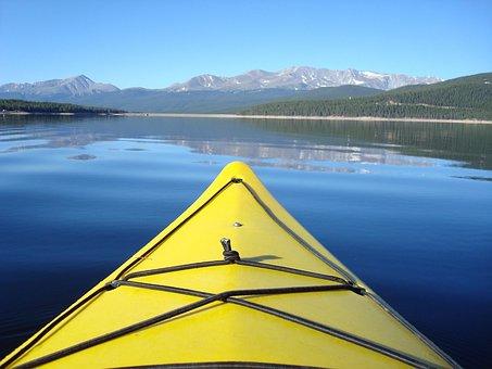 Kayak, Boat, Lake, Kayaking, Sport, Summer, Paddle