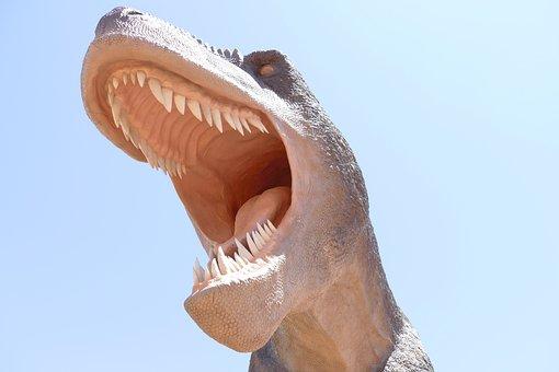 Trex, Dinosaur, Tyrannosaurus, Rex, Sculpture, Park