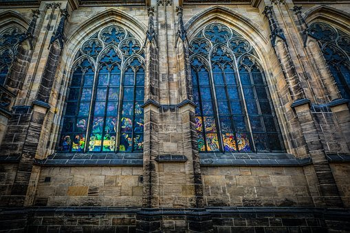 Sunlight, Arch, Stained, Glass, Stained Glass, Window