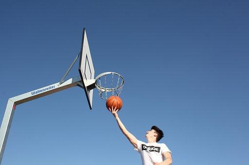 Basketball, Basketball Hoop, Sport, Play, Ball Game