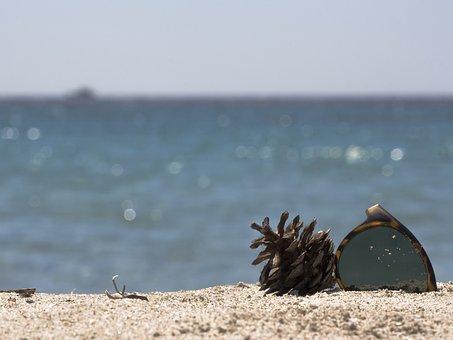 Summer, Sun, Sea, Beach, Atmosphere, Sand, Sunglass