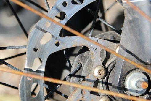 Bike, Spokes, Brake