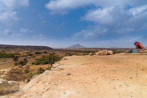 Boa Vista, Cape Verde, Desert, Drought