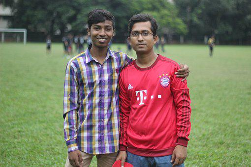 With Raju Vai, Nice Guy, Fond Of Playing Cricket