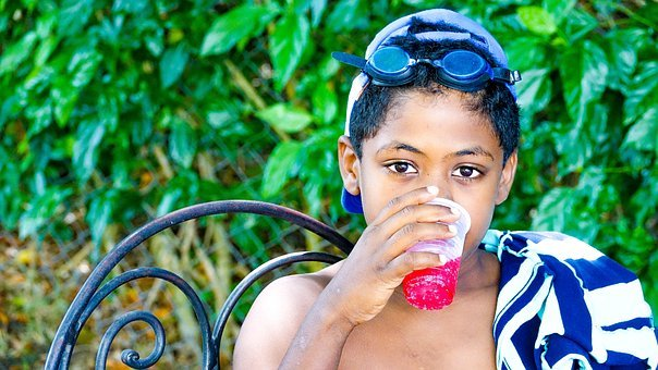 Child, Boy, Drink, Lemonade, Garden, National Park