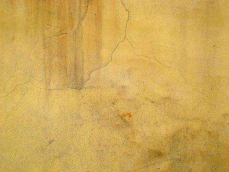 Wall, Plaster, Dirty, Weathered, Grey, Grunge, Texture