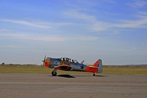Harvard Aircraft, Airplane, T-6, Texan, Fixed Wing
