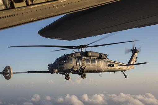 Hh-60g, Pavehawk, Helicopter, Air Force, Refueling
