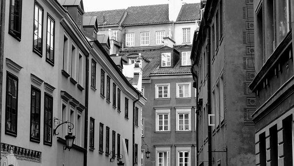The Old Town, Architecture, Old Buildings, Old, Houses
