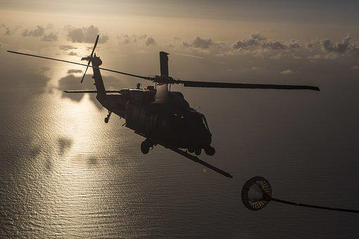 Hh-60g Pave Hawk, Refueling, Air Force, Helicopter