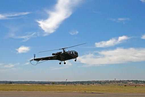 Alouette Lll Helicopter, Helicopter, Rotor, Craft