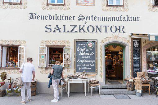 Salt Kontor, Hallstadt, Salt, World Heritage