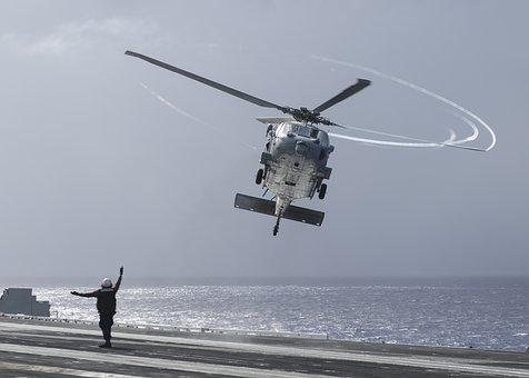 Mh-60s, Sea Hawk, Helicopter, Usn, United States Navy