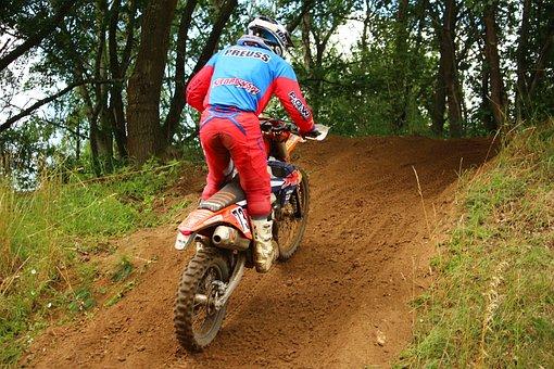Enduro, Dirtbike, Motocross, Action, Athletes