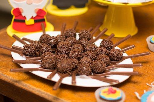 Brigadier, Children's Party, Decoration, Sweet, Candy