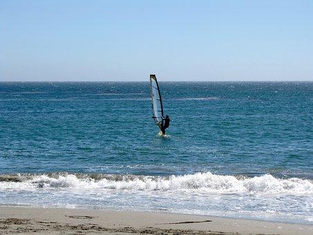 California, Santa Cruz, Water, Coastline, Tourism, Surf