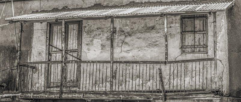 Old House, Damaged, Weathered, Aged, Abandoned, Decay