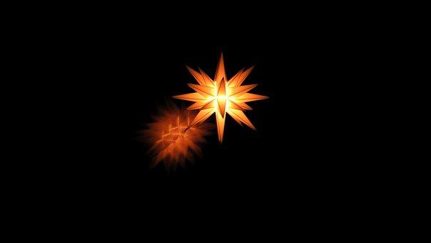 Star, Decoration, Advent, Christmas, Bright Star