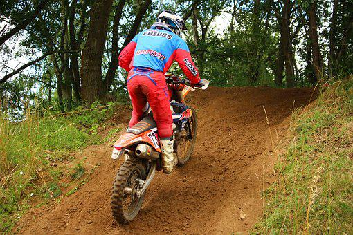 Enduro, Dirtbike, Motocross, Action, Athletes