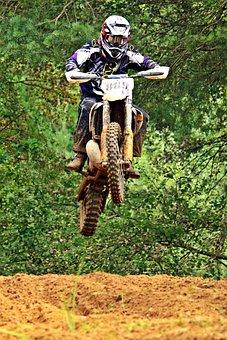 Motorcycle, Enduro, Motocross, Dirtbike, Cross, Racing