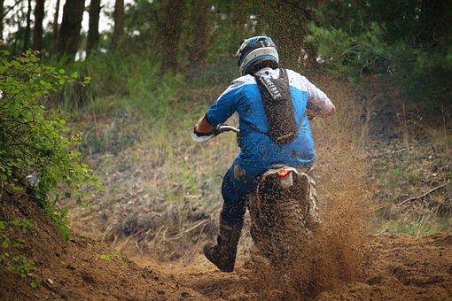 Motocross, Enduro, Dirtbike, Motorcycle, Motorsport