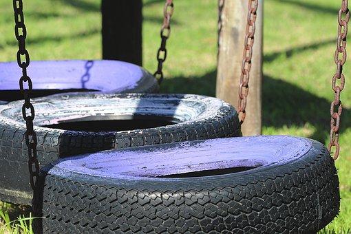 Mature, Game Device, Playground, Swing, Play, Children
