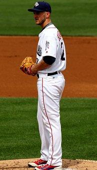 Pitcher, Baseball, Lehigh Valley Ironpigs, Glove, Mound