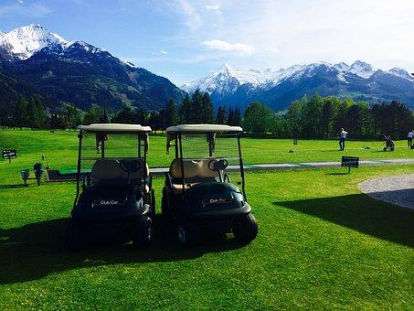 Golf, The Golfcourse, Austria, Mountains, Alps