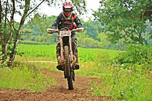 Motorcycle, Dirtbike, Motocross, Enduro, Motocross Ride