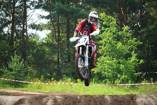 Motorcycle, Motocross, Jump, Enduro, Motorsport, Race