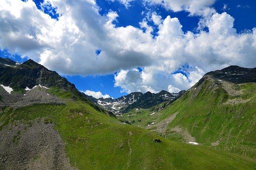 Turkey, Nature, Landscape, Sky, Mountain, Clouds, Peace