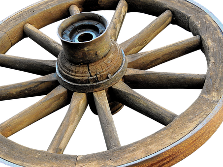 Wooden Wheel, Wheel, Wagon Wheel, Wooden Wheels, Old