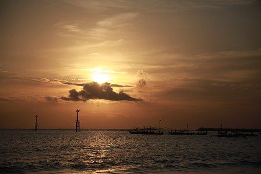 Bali, Sunset, Jimbaran