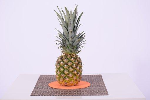 Pineapple, Tropical Fruit, Fruit