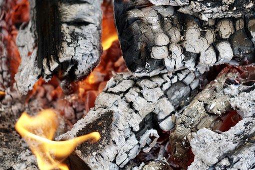 Embers, Wood, Heat, Fireplace, Hot, Wood Fire