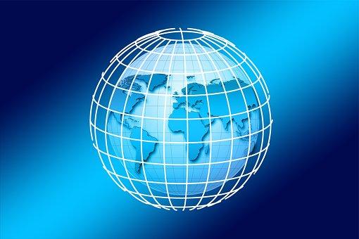 Globe, Earth, World, Globalization, Planet, Grid