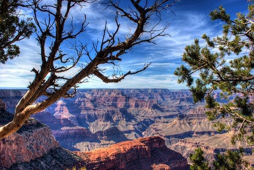 Grand Canyon, Canyon, Arizona, Geological, Park, Nature